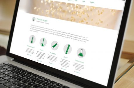 New Biome Bioplastics website