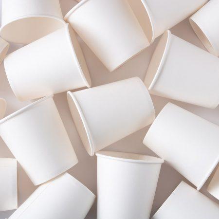 Bioplastic cups