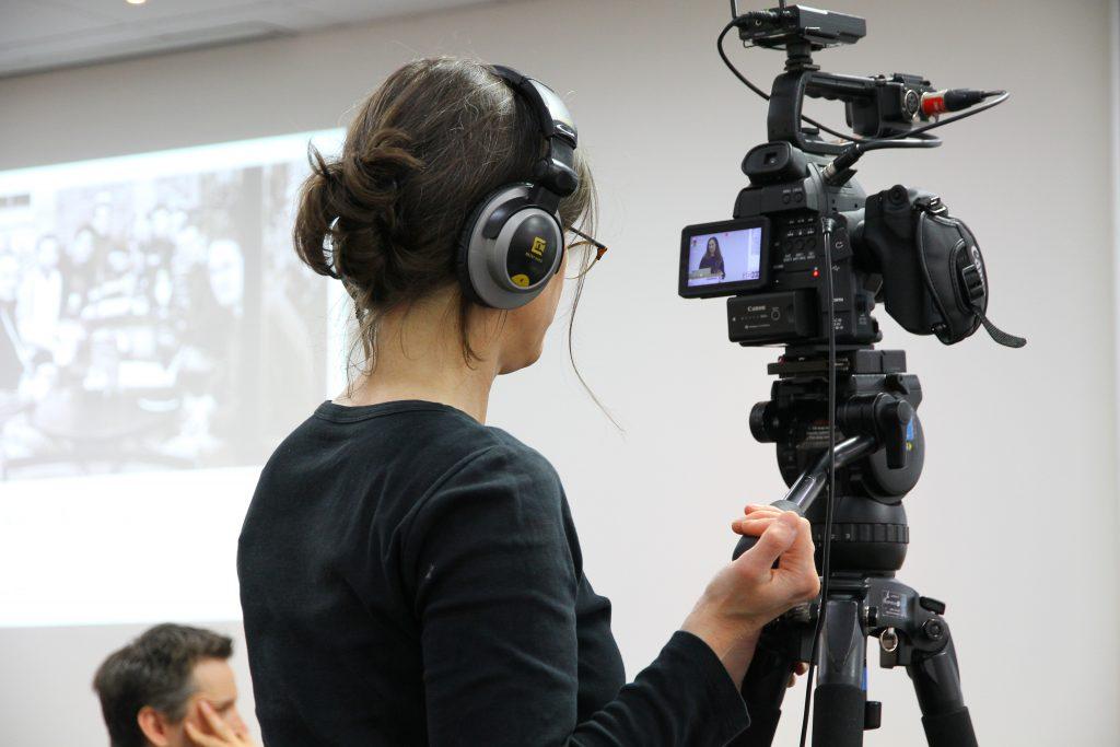 Life Size Media film crew