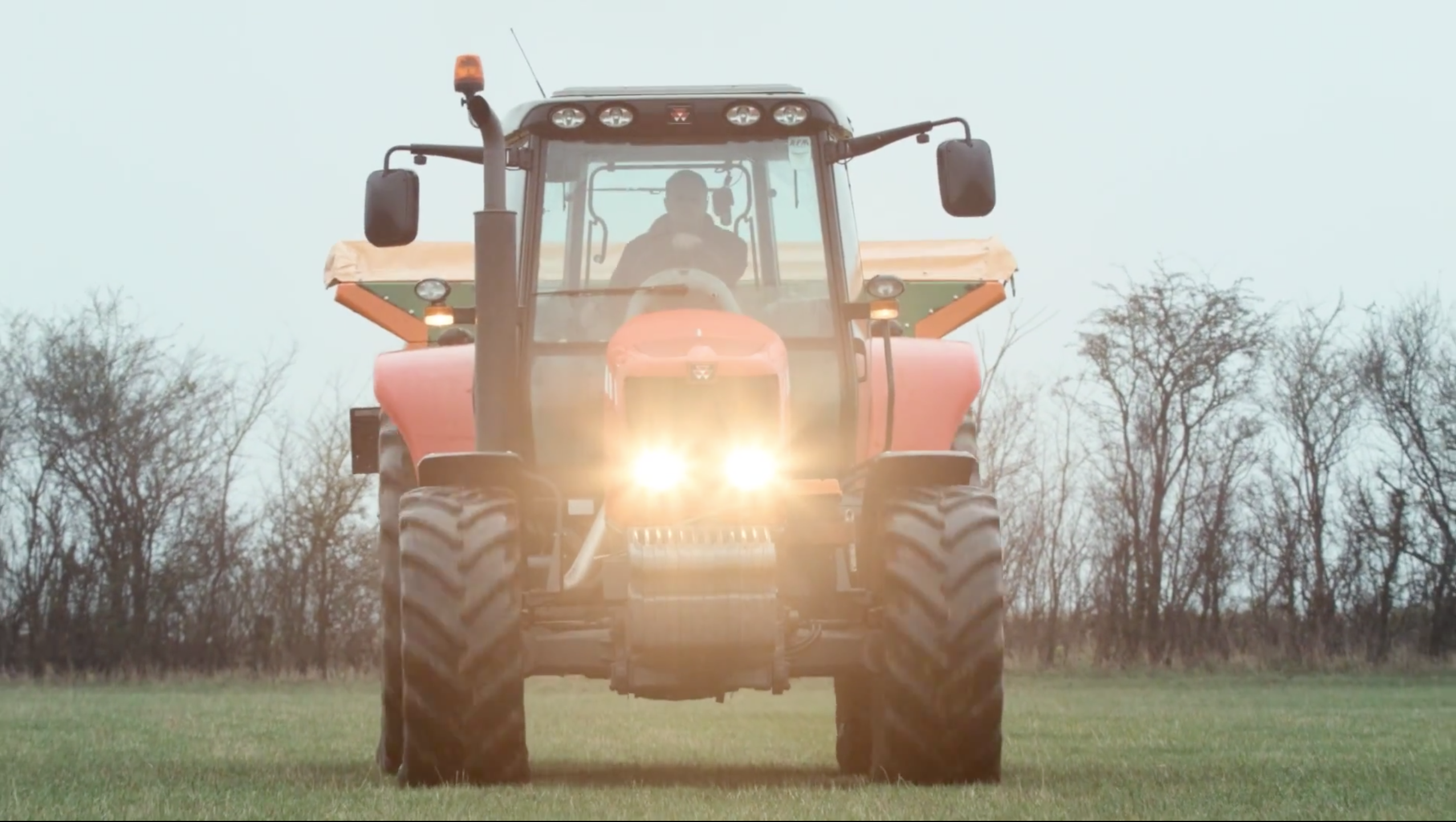Life Size Media capture a tractor on the Ventive film set