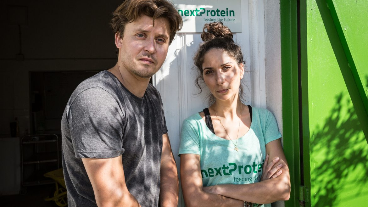 Syrine Chaalala and Mohammed Gastli founders of nextProtein