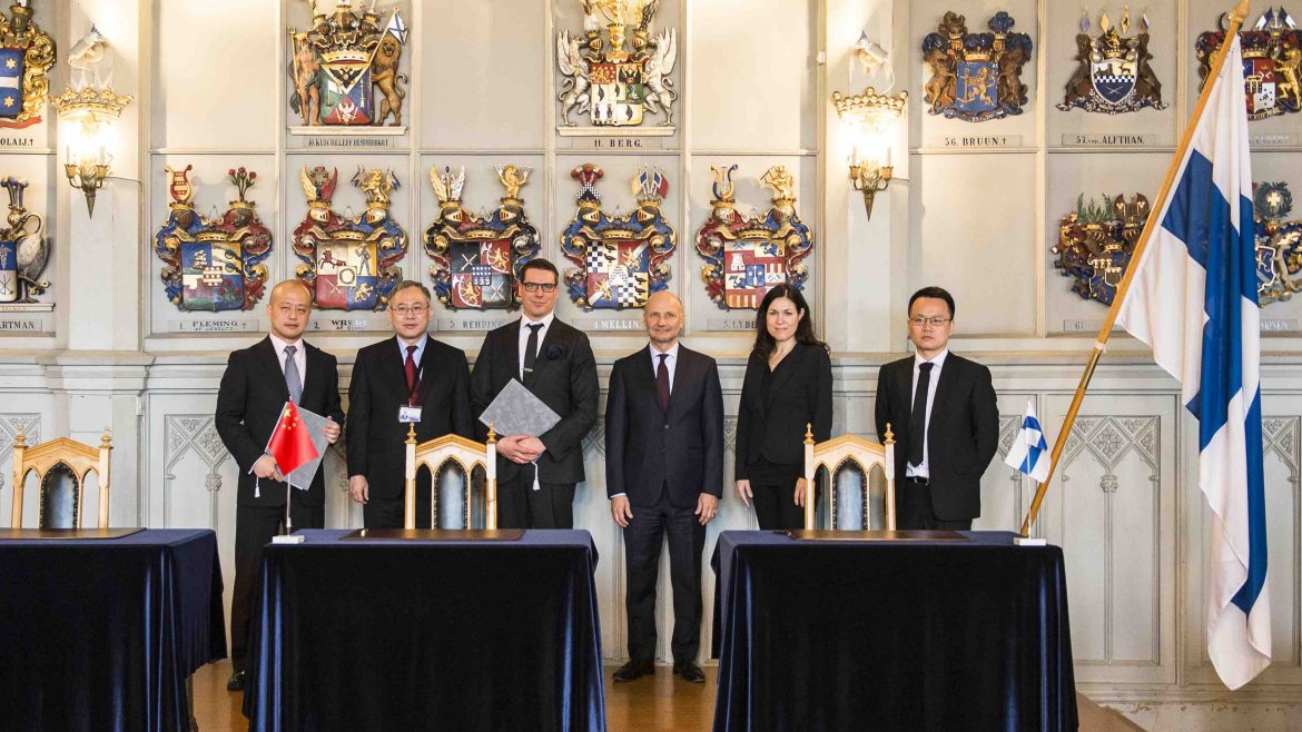 Visedo signs a letter of intent with Chinese Beijing Capital Investment