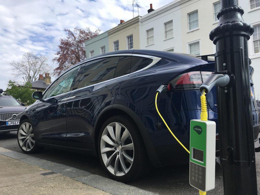 ubitricity EV charging
