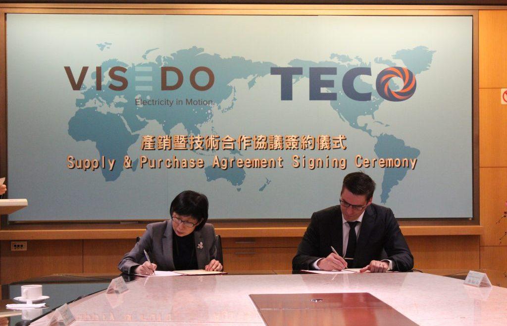 Visedo And Teco Sign Historic Partnership Technology Agreement