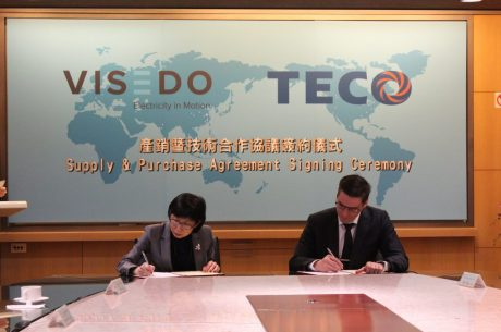 Visedo and TECO sign historic partnership Technology agreement