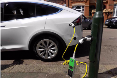 ubitricity powering London EV charging on National Clean Air Day