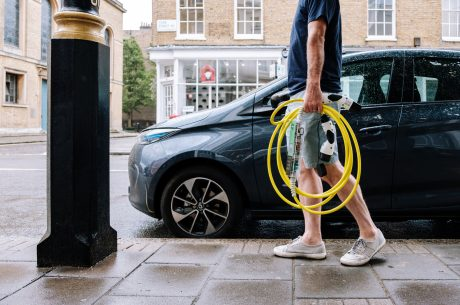ubitricity joins OVO to expand London's lamp post EV charging network