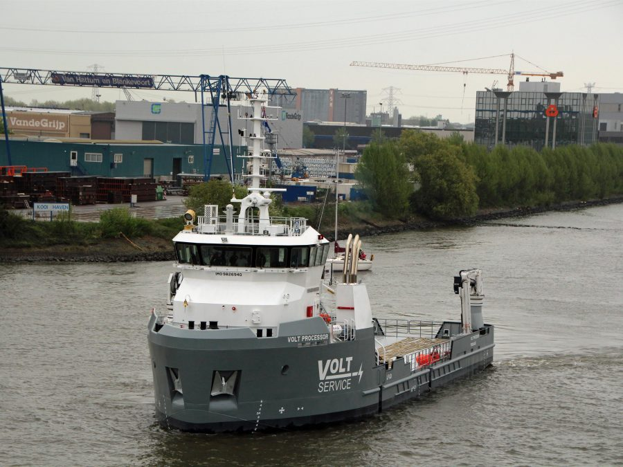 Danfoss Mobile Electrification - Damen Shipyards Volt Processor