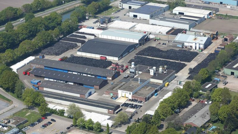 The industrial-scale prototype plant located in Nederweert, The Netherland.