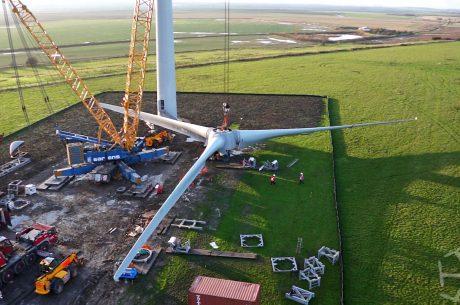 PfR open first major wind energy development on prison land
