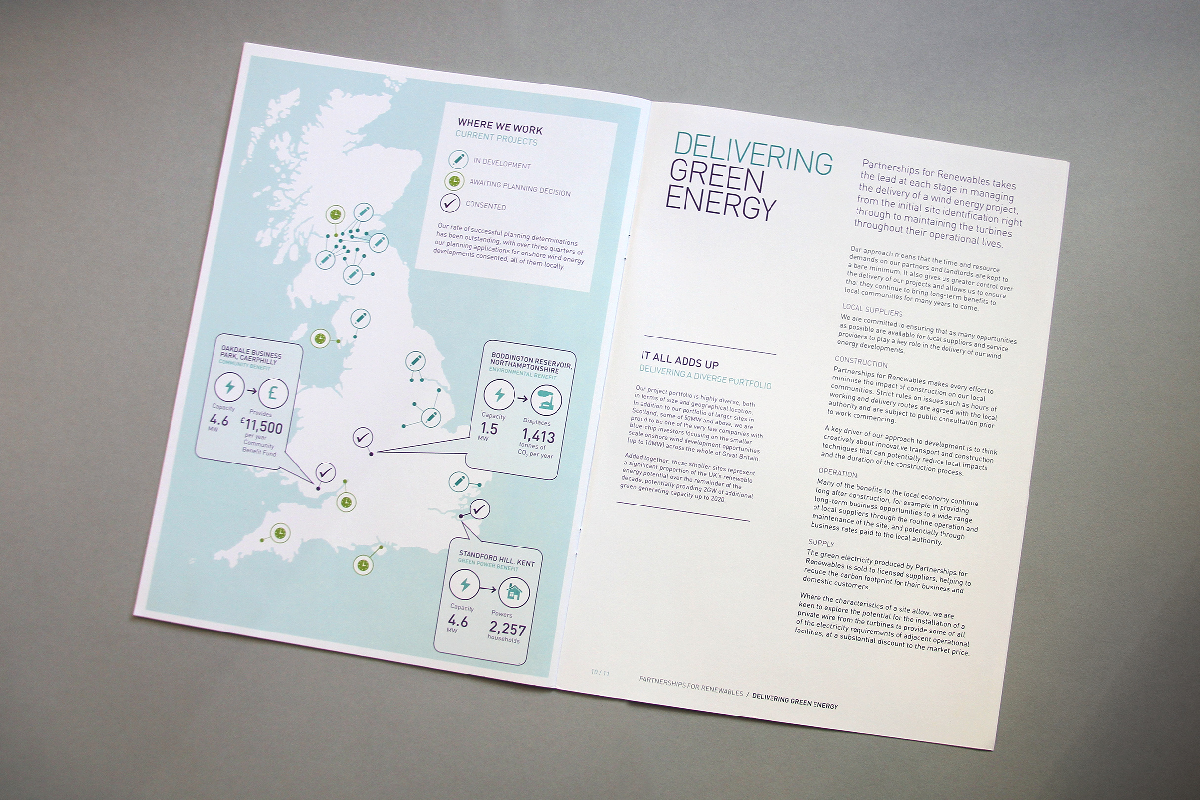 Standford Hill Wind Project Marketing Material Brochure Cleantech Energy