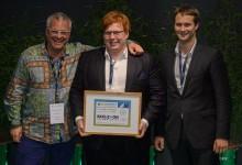 Skeleton Technologies wins the Best Startup award ecosummit 2015 London