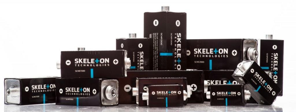 Skeleton Technologies range of graphene-based ultracapacitors