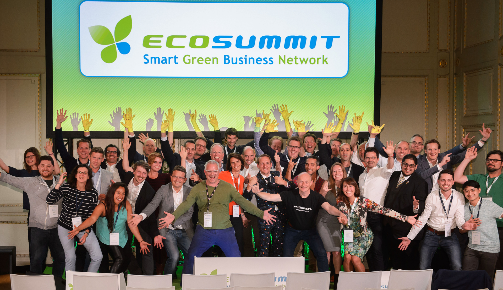 Smart Green Business Network Ecosummit 2016 Amsterdam