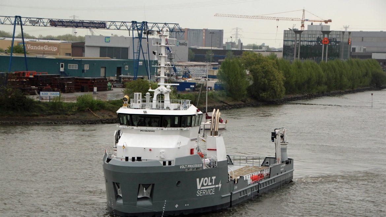Danfoss Mobile Electrification - Damen Shipyards Volt Processor