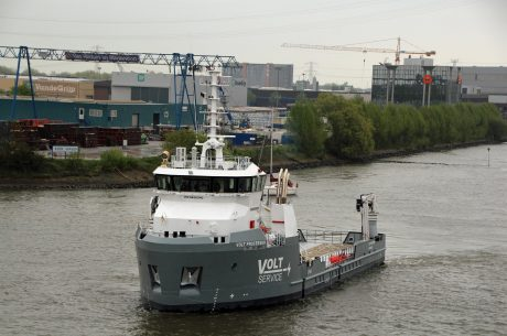 Danfoss Mobile Electrification delivers market leading efficiency for new Damen Shipyards vessel