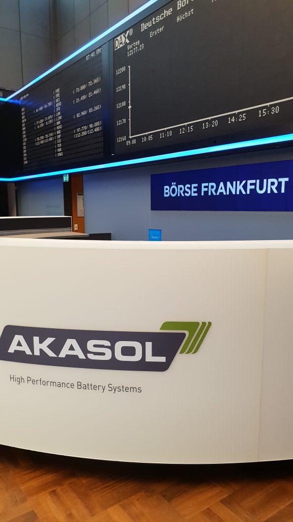 Börsengang (IPO) AKASOL AG