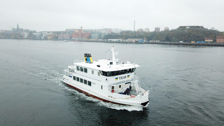 Stockholm first hybrid ice-class passenger ferry - Yxlan - Photo by Robert Levin_1