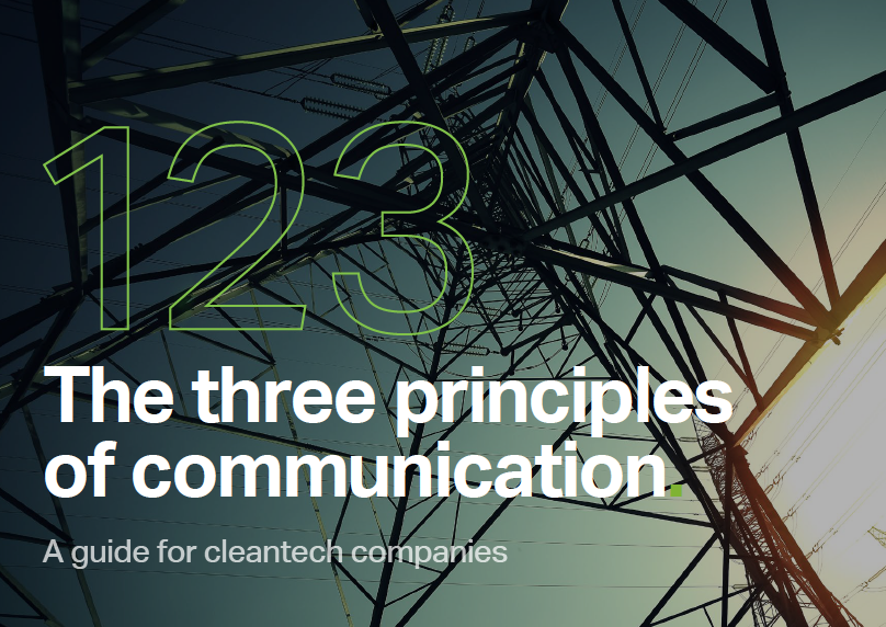 Three principles of communication